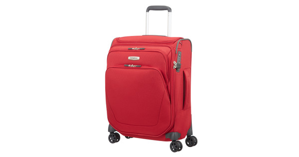Samsonite Spark SNG Spinner 55cm Toppocket Red