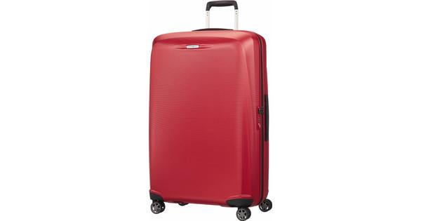 8982f86e28e Samsonite Starfire Spinner 75 cm Crimson Red - Coolblue - Voor 23.59 ...