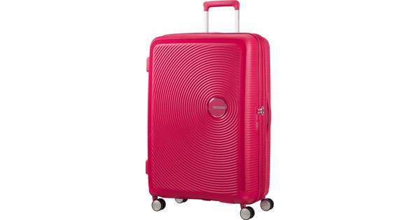 American Tourister Soundbox Expandable Spinner 77cm Lightning Pink