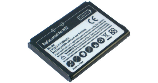 Veripart Battery HTC Touch 3G 1100 mAh + Thuislader