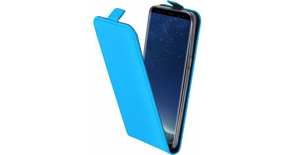 96636a67d95 Mobiparts Premium Galaxy S8 Flip Case Blauw - Coolblue - Voor 23.59u ...