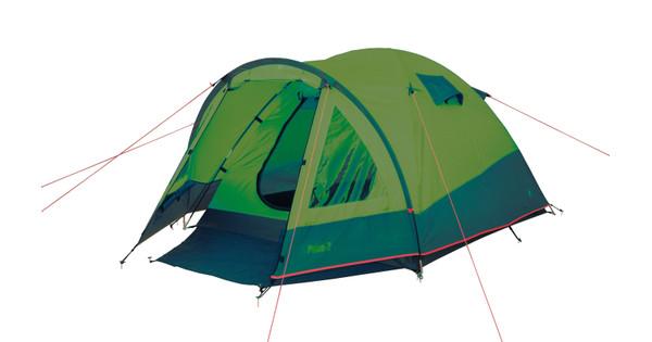 Bo-Camp Tent Pulse 2 Groen/Grijs