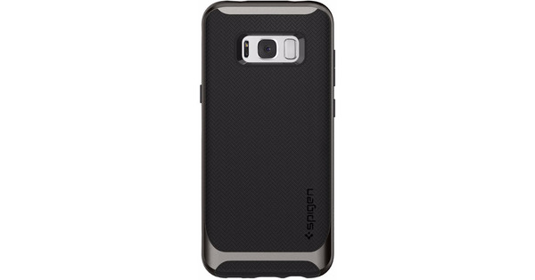 official photos 8c3ad 320a2 Spigen Neo Hybrid Samsung Galaxy S8 Plus Back Cover Gray - Coolblue ...