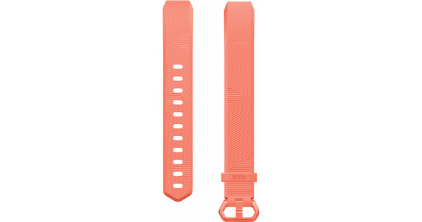 Fitbit Alta HR Kunststof Polsband Oranje Large