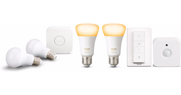 Hue Lampen Aanbieding : Philips hue out of home pakket coolblue voor u morgen in