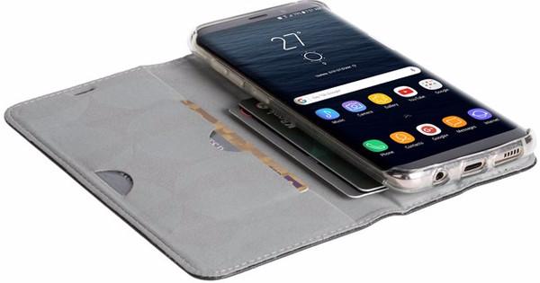 Krusell Malmo Samsung Galaxy S8 Plus Book Case Black