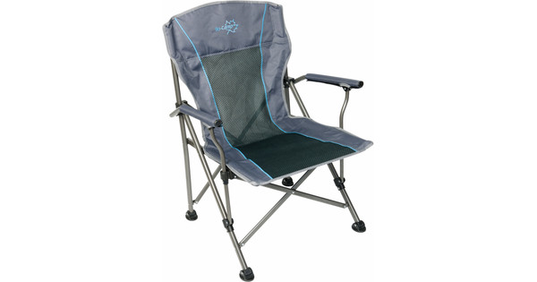 Bo Camp Stoel : Bo camp vouwstoel deluxe king antraciet coolblue alles voor een