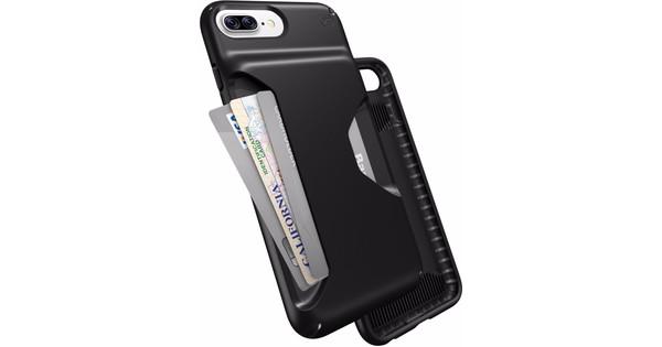official photos 6196c 5a8ca Speck Presidio Wallet Apple iPhone 7 Plus/8 Plus Back Cover Zwart