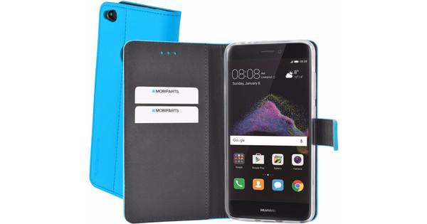 los angeles e4500 19176 Mobiparts Premium Wallet TPU Huawei P8 Lite (2017) Book Case Blue