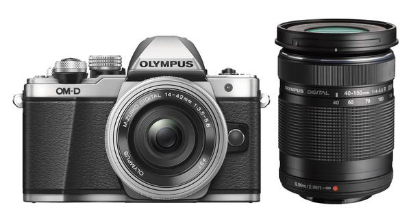 Olympus OM-D E-M10 Mk II Zilver + 14-42mm IIR + 40-150mm R