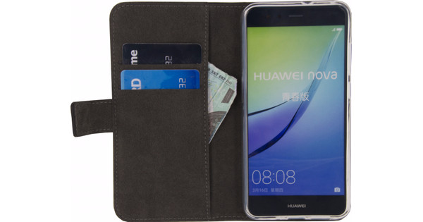 Mobilize Classic Gelly Wallet Huawei P10 Lite Book Case Black