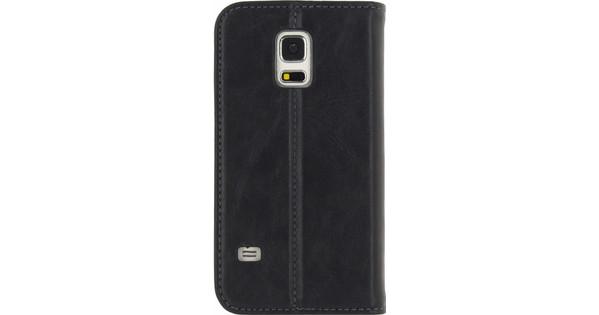 Mobilize Premium Gelly Samsung Galaxy S5 Mini Book Case Zwart