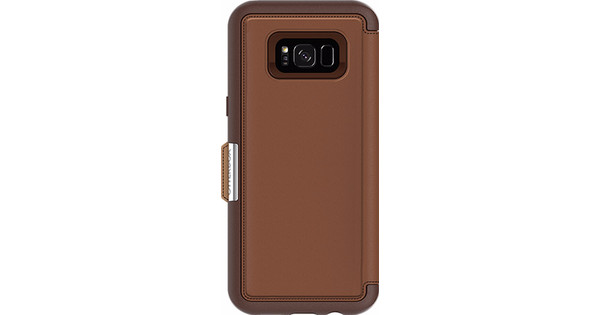 Otterbox Strada Samsung Galaxy S8 Plus Book Case Brown