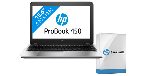 HP ProBook 450 G4 i3-8gb-128ssd + HP Care Pack Laptop - 3 jr