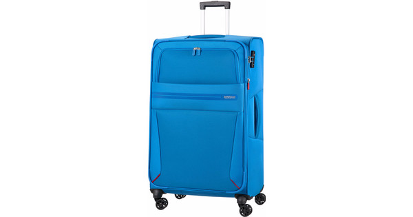 f6da021533e American Tourister Summer Voyager Expandable Spinner 79cm Breeze - Coolblue  - Before 23 59