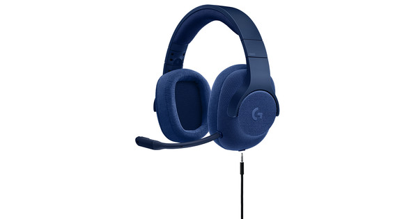 Logitech G433 7.1 Surround Sound Gaming Headset Blue