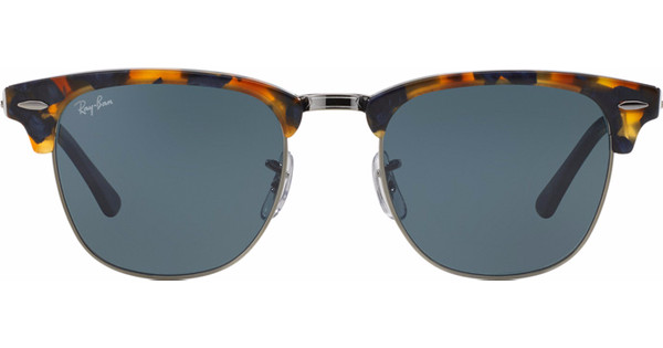 Ray-Ban Clubmaster RB3016/51 Spotted Blue Havana / Grey