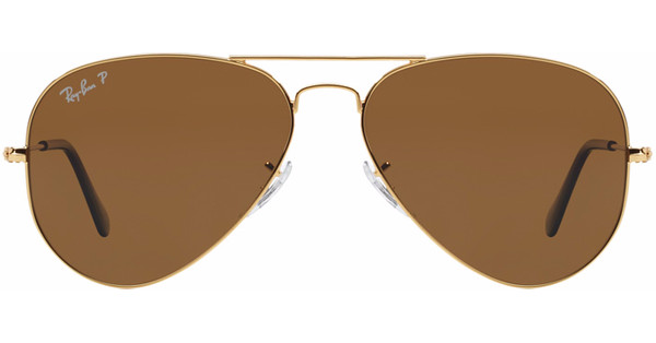e5cc9aac959f67 Ray-Ban Aviator RB3025 58 Gold   Crystal Brown Polarized - Coolblue ...