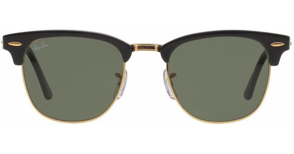 d249f8872db26b Ray-Ban Clubmaster RB3016 49 Ebony Arista   Crystal Green - Coolblue ...