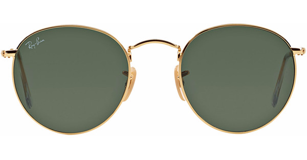 Ray Ban Zonnebril Met Ronde Glazen.Ray Ban Round Rb3447 Arista Crystal Green