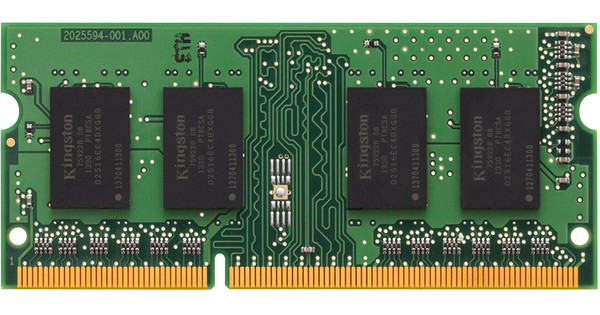 Kingston 4GB 1600MHz Low Voltage DDR3L SODIMM