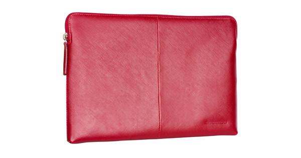 "Dbramante1928 Paris Sleeve MacBook Pro 13"" Rood"