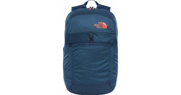The North Face Flyweight Pack Blue/Nasturtium Orange