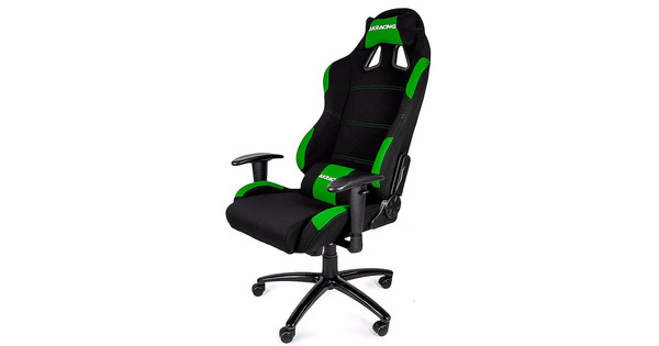 AK Racing Gaming Chair Zwart / Groen