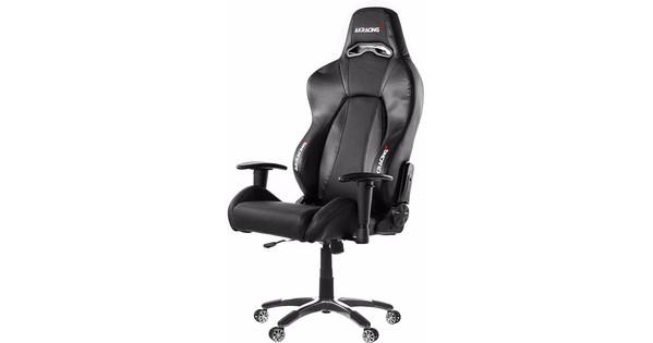 AK Racing Premium Gaming Chair Zwart / Carbon