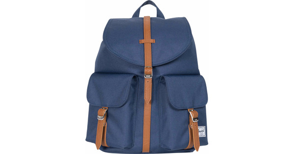 Herschel Dawson X-Small Navy/Tan Synthetic Leather