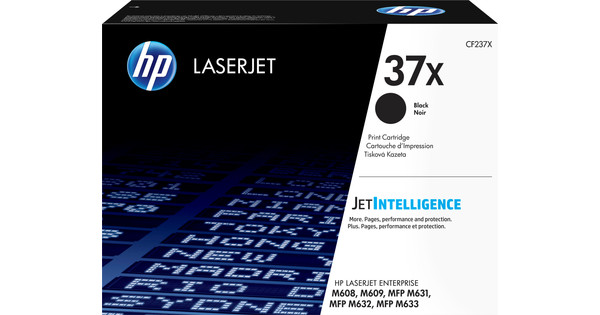 HP 37X Toner Zwart XL (CF237X)
