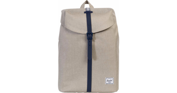 Herschel Post Mid-Volume Light Khaki Crossh/Peacoat Rub
