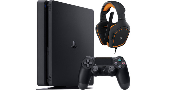 Sony PlayStation 4 500GB + Logitech G 231 Gaming Headset