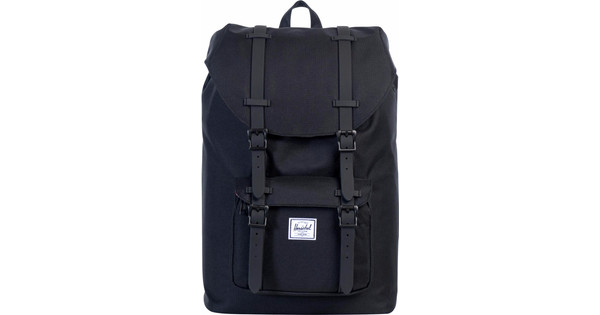 Herschel Little America Mid-Volume Black Rubber