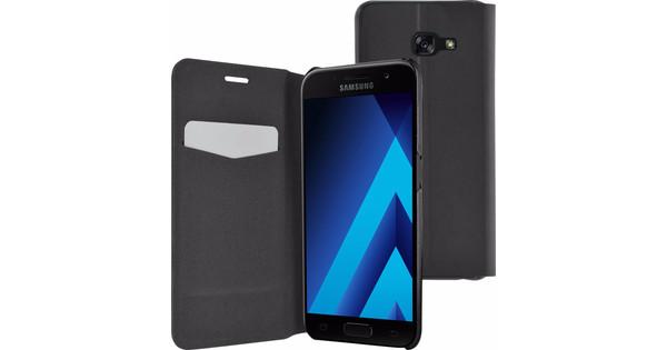 Azuri Booklet Ultra Thin Samsung Galaxy A3 (2017) Book Case Zwart