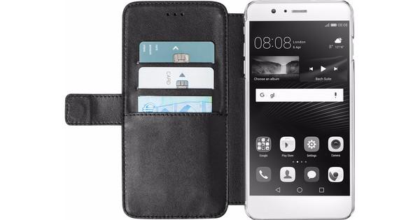 Azuri Wallet Magnetic Huawei P9 Book Case Black
