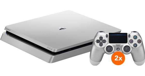 Sony PlayStation 4 Slim 500 GB Zilver