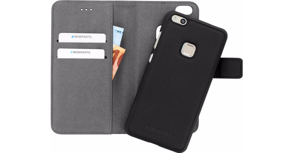 Mobiparts 2 in 1 Premium Wallet Huawei P10 Lite Book Case Black