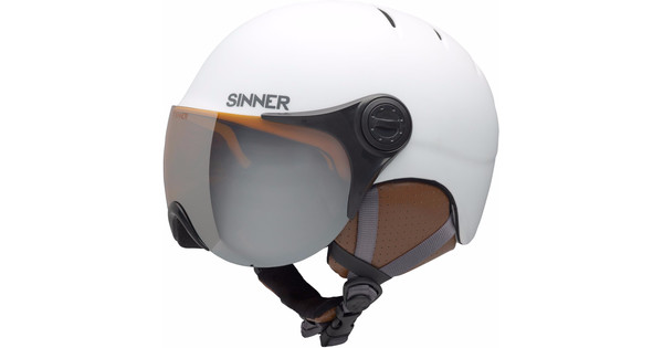 Sinner Crystal Matte White (51 - 52 cm)