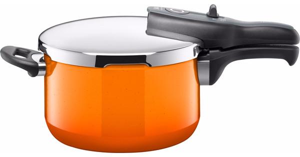 Silit Sicomatic T-Plus Snelkookpan Passion Orange 4,5 Liter