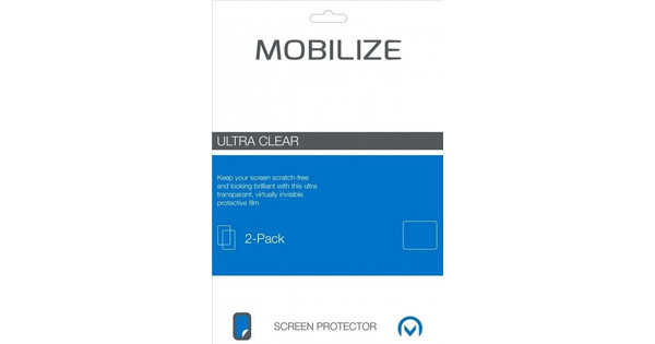 Mobilize Screen Protector Honor 9 Plastic Duo Pack