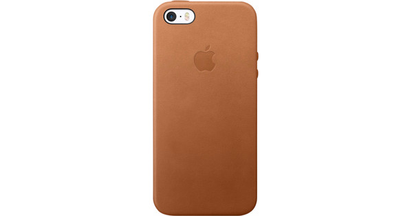 new style 17508 19f1e Apple iPhone 5/5S/SE Leather Case Saddle Brown