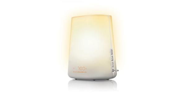 Philips Wekker Licht : Philips wake up light premium hf coolblue alles voor een