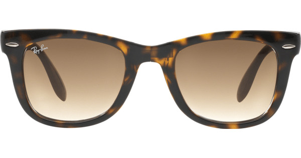 d3a255edac124f Ray-Ban Folding Wayfarer RB4105 Light Havana   Crystal Brown Gradient