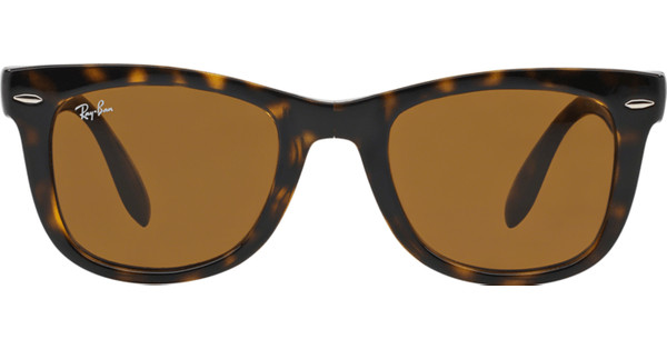 Ray-Ban Folding Wayfarer RB4105 Light Havana / Crystal Brown
