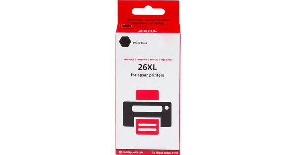Pixeljet 26 XL (T2631) Fotozwart voor Epson printers (C13T26314010)