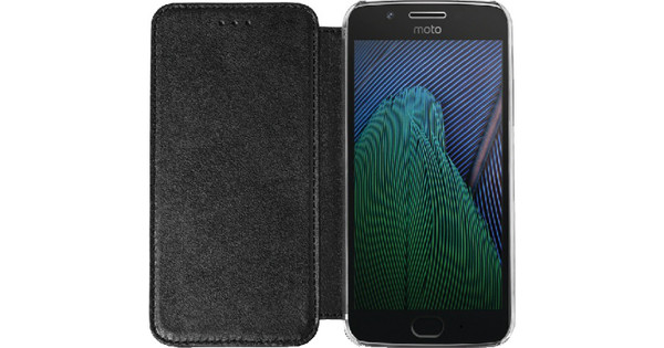 Azuri Booklet Motorola Moto G5 Plus Book Case Black