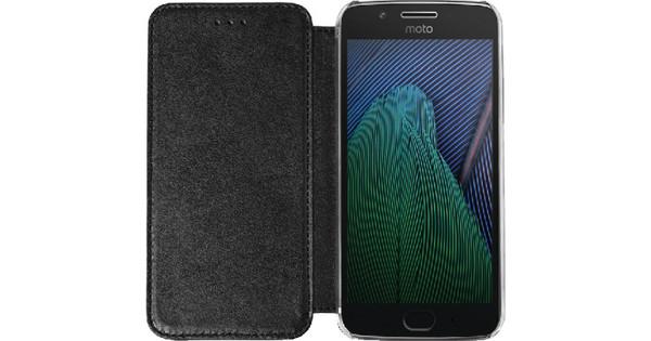 Azuri Booklet Motorola Moto G5 Plus Book Case Black