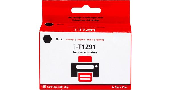 Huismerk T1291 Zwart voor Epson printers (C13T12914011)