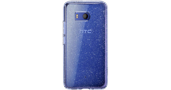 save off 89699 aff02 Spigen Liquid Crystal Glitter HTC U11 Back Cover Transparent